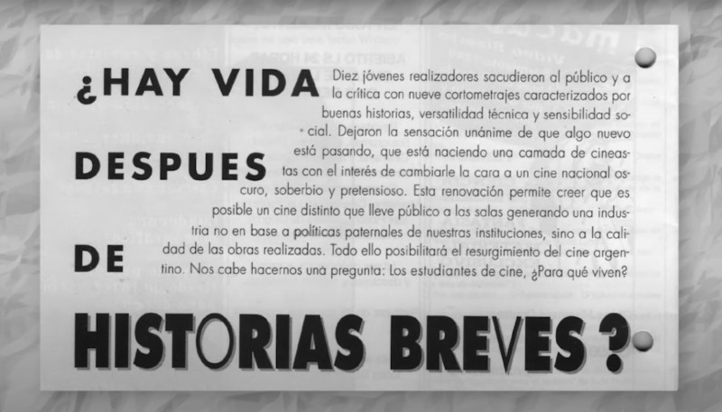 Must-Sees - Special Dossier: 25 years of Historias Breves
